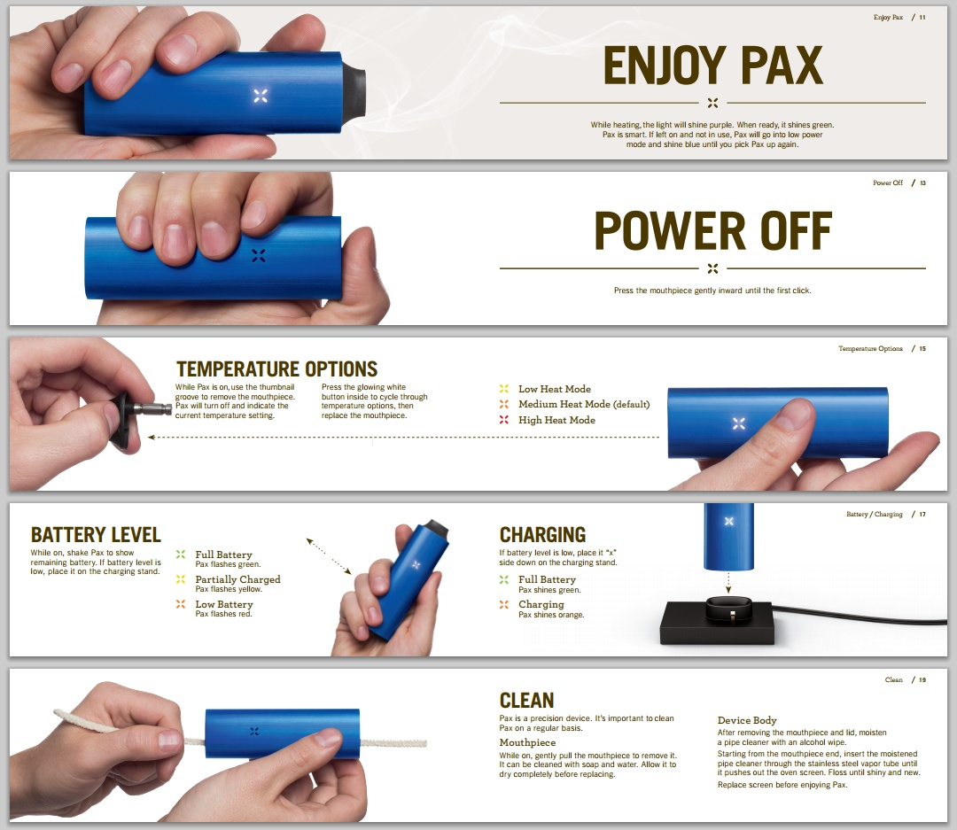 How To Use Pax