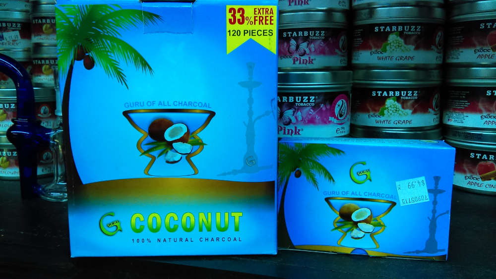 Guru Coconut Charcoals