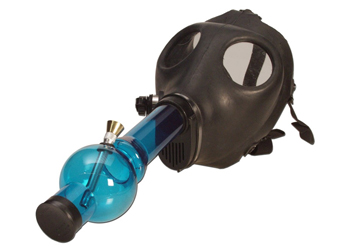 Gas Mask Bong KC