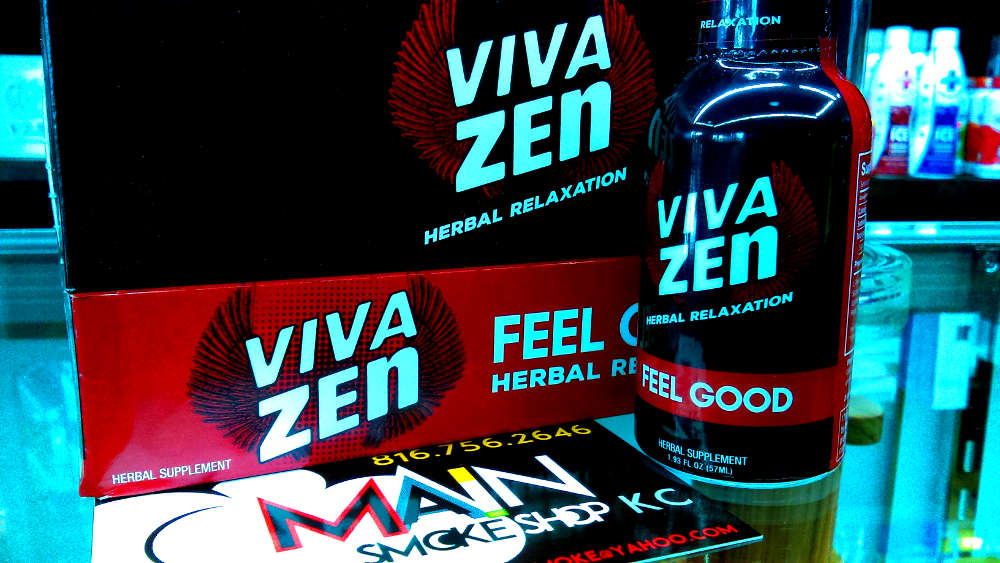 Viva Zen Liquid Kratom Shot KC