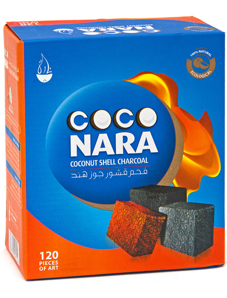 Coco Nara is a customer favorite and the overall most popular brand of charcoals bought for smoking hookah.  Coco nara makes the highest quality compressed conconut shell charcoal.