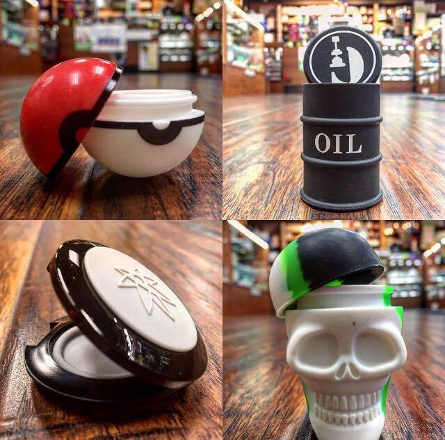 Lets Vape & Smoke Shop KC offer silicone jar to save your essential oils
