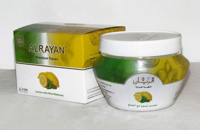 Alrayan is a hookah tobacco company established in 2011 that makes a molasses based shisha blend with loads of flavor options.