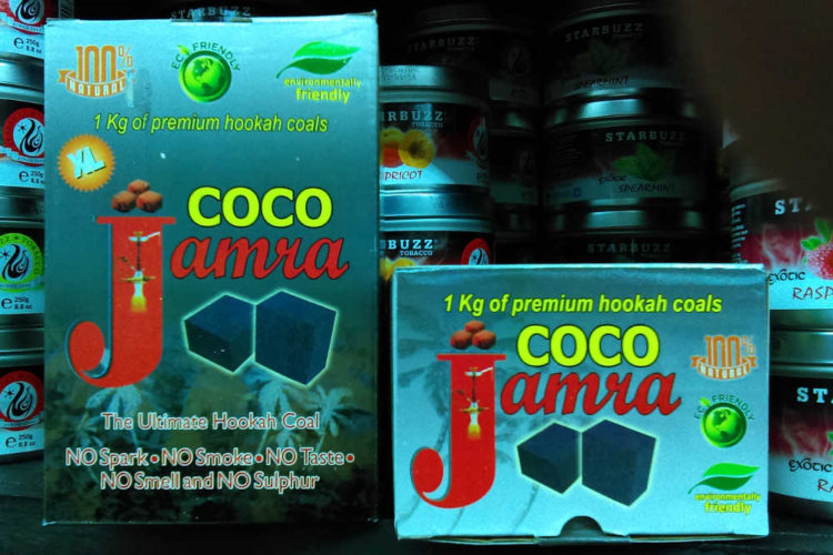 Jamra is an established company offering coconut and instant light charcoals for quality hookah smoking.