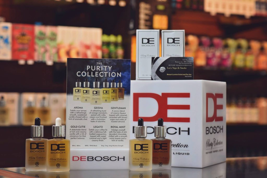 deboschvapor is in stock now with some amazing flavors