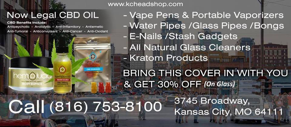 Glass pipes offer Lets Vape & Smoke Shop KC