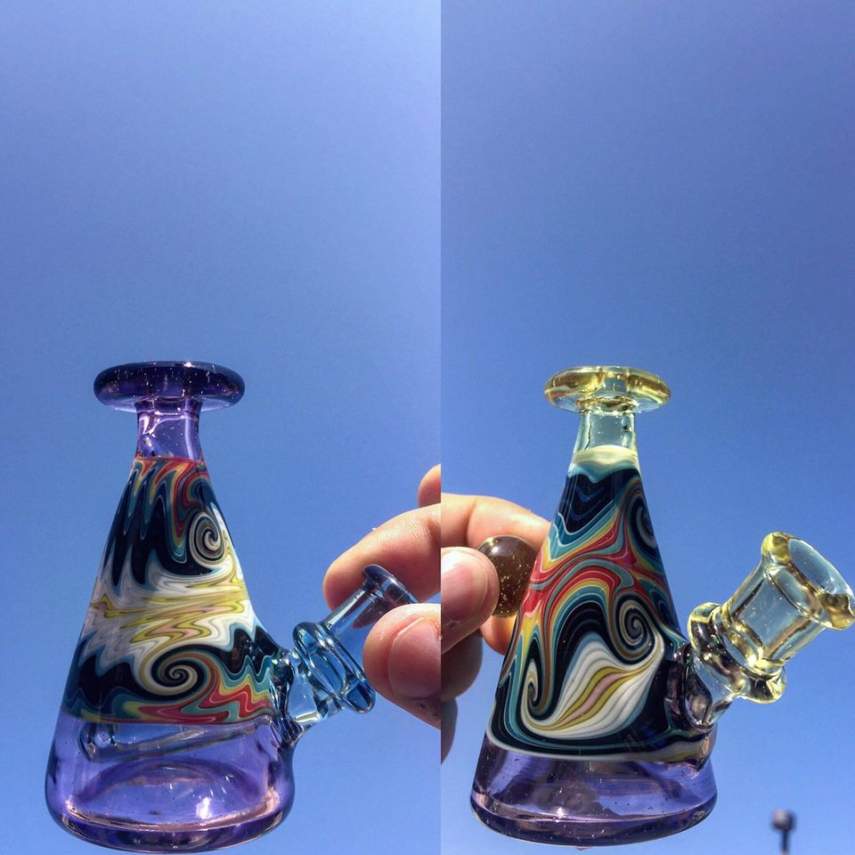 glass pipes by dusty glass