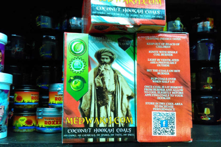 Medwakh is an established company out of Lawrence, KS in the dokha tobacco realm and we offer their high quality coconut charcoals as well.