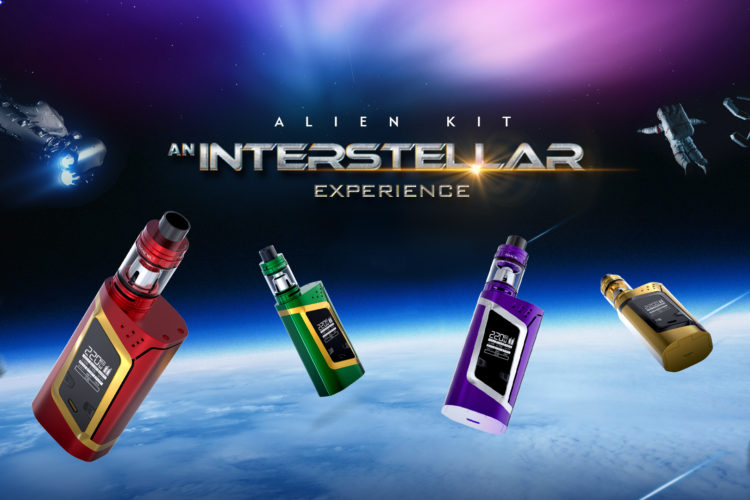 The SMOK Alien Kit consists of an Alien 220W TC dual-18650 box mod and a TFV8 Baby Beast sub-ohm tank. Kit is designed for those intermediate-to-advanced vapers who want a stylish all-in-one devicethat provides ample power and superior performance.  Specification The relatively compact, oblong cylindrical shape, essentially a box with curved sides and flat […]