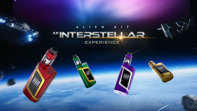 E Mod: SMOK Alien Kit, | vaporizer in Kansas City, near overland park ks, liberty mo, gladstone