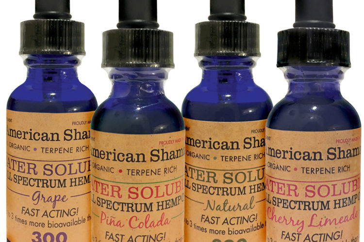 American Shaman CBD Water Soluble, MADE IN USA, is  100% Organic and Terpene Rich! You Can drink American Shaman's Canabidiol Hemp Oil Supplement. This fast acting delivery system is up to 3 times more bioavailable than oil. This may be added to any drink and there are four flavors to choose from. CBD Water Soluble […]