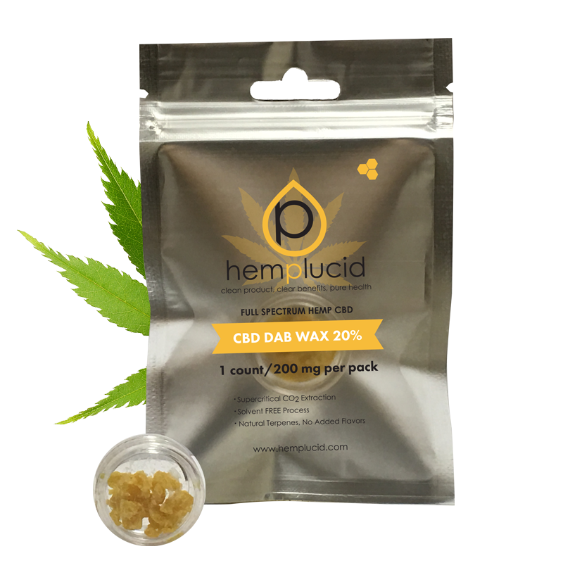 hemplucid cbd dab wax in kansas city