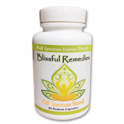 Blissful Remedies Capsule kratom