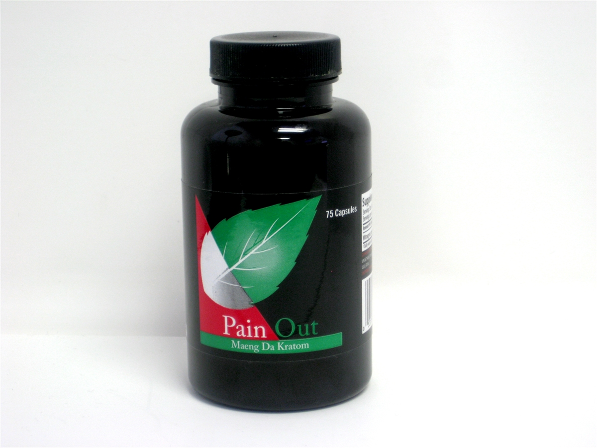 pain out kratom capsule