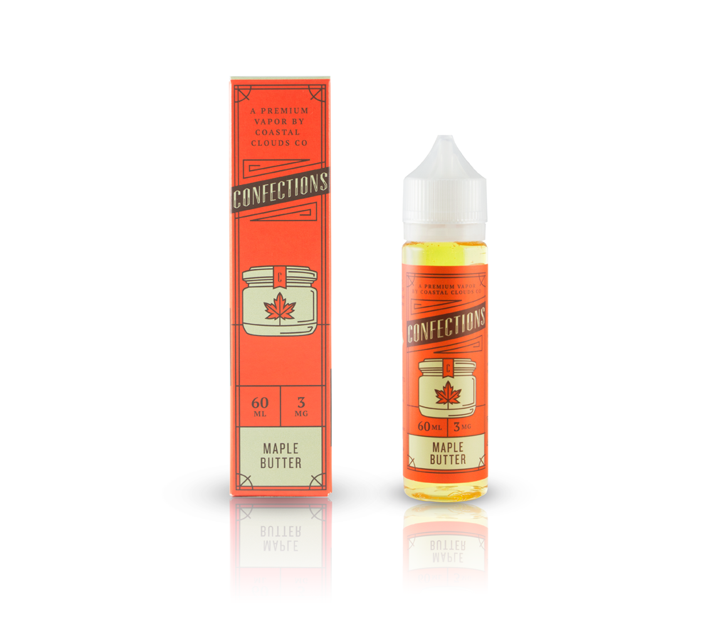 Confection E Juice Maple-Butter-e liquid in kansas city