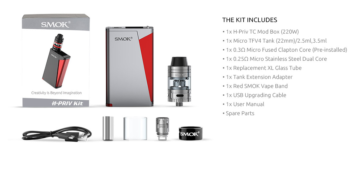 H Priv Vaping Kit