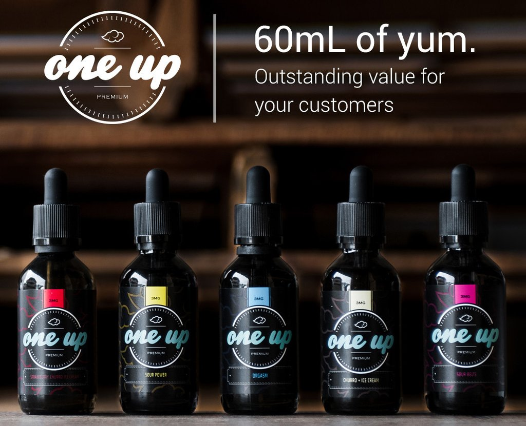 One up E juice