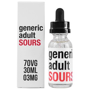GENERIC ADULT SOURS E JUICE