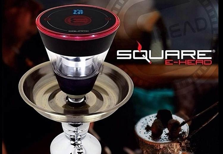 The Square E-head is the most versatile and popular electronic hookah head for transforming any standard hookah into a full fledged oil vaping system. This unit is a traditional shaped hookah bowl engineered to efficiently vape e-liquids electronically as an alternative to traditional shisha & charcoal.