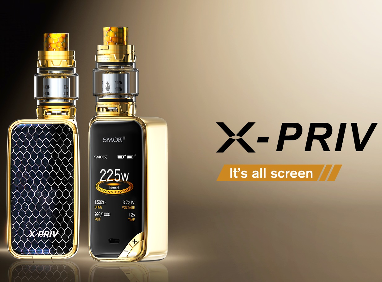X-Priv kit by SMOK, buy vaping kits, vaping pen, vaporizer, emods etc. best head shop in kc