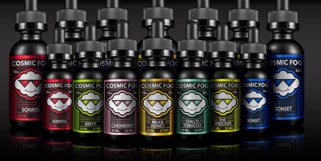 COSMIC fog e liquid in kansas city. lets vape and smoke shop stock a huge selection of E Juice. No#1 Head Shop in all over KC