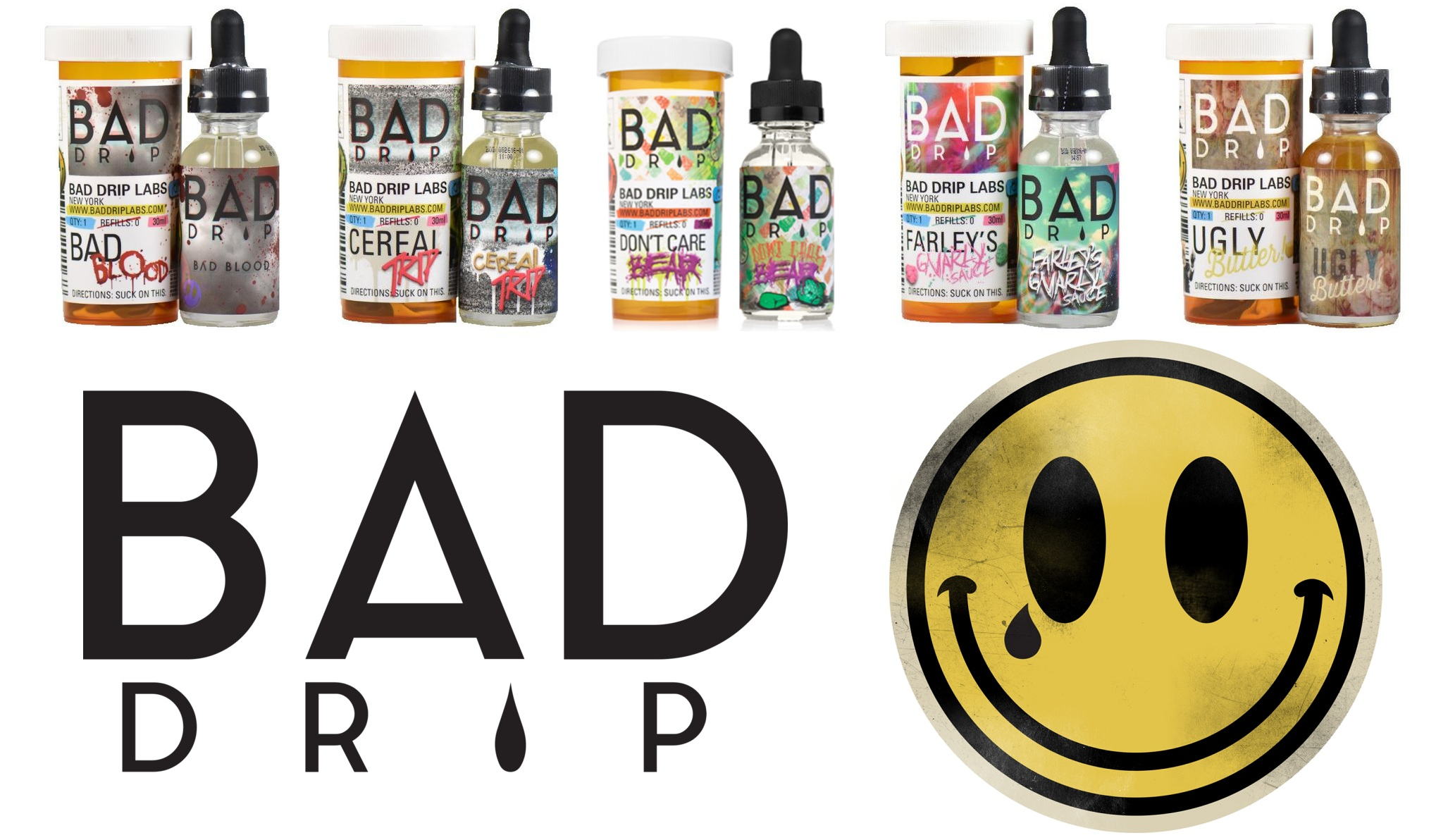 bad drip e liquid in Kansas City at Lets Vape and Smoke Shop