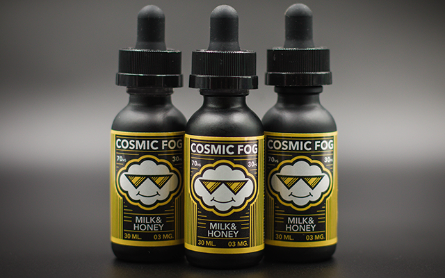 Cosmic Fog E liquid milk-honey