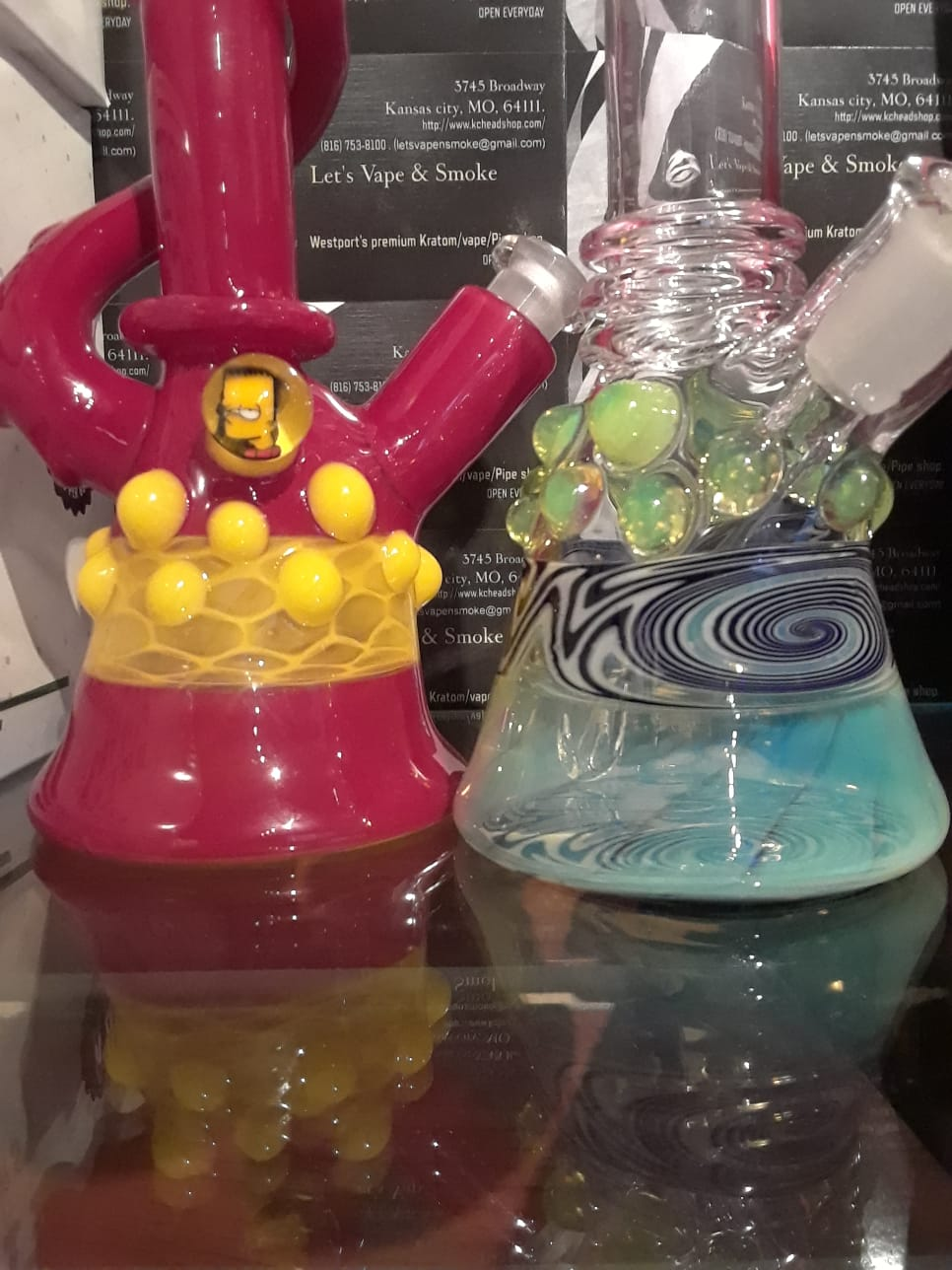 Top of the line Glass Pipes