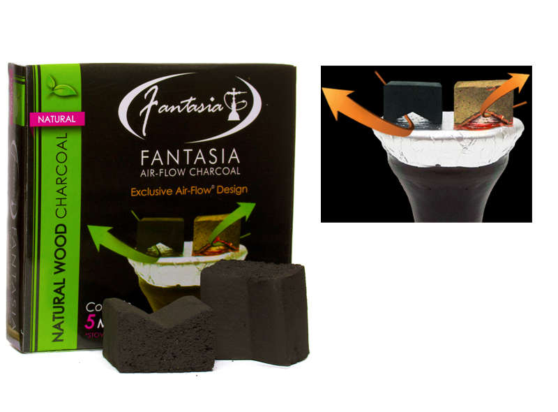 fantasia-air-flow charcoal in Kansas City at Lets Vape & Smoke Shop KC