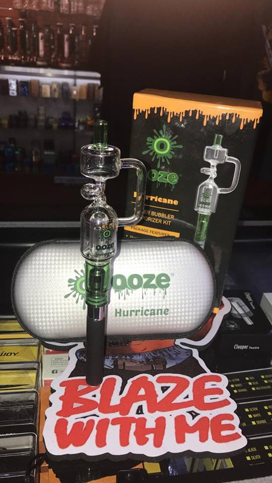 Ooze Hurricane water bubbler vaporizer kit